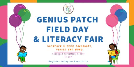 Genius Patch Field Day and Literacy Fair tickets