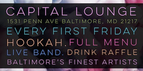 First Fridays @ Capital Lounge  tickets