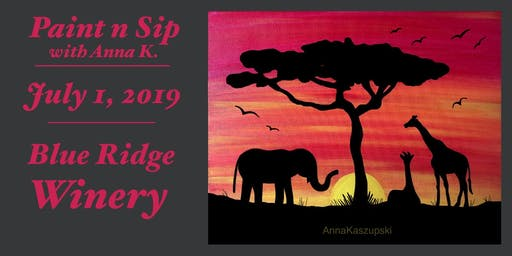 Paint n Sip- Serengeti Sunset