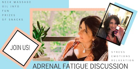 Overcoming Stress, Anxiety, and Adrenal Fatigue tickets