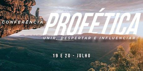 Conferência Profética 2019 ingressos