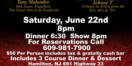 Voices of Legends Dinner Show tickets