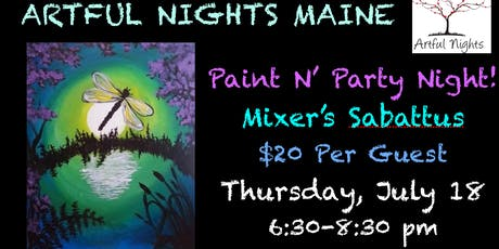 Paint N' Party Night at Mixer's  Nightclub & Lounge tickets