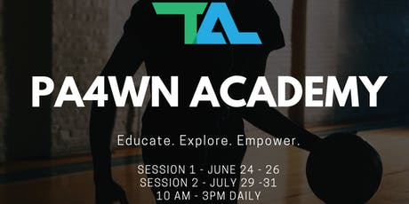 PA4WN (Preparing Athletes for What's Next) Academy: June 24 - 26 tickets