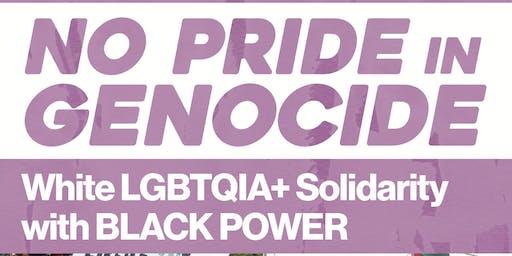 No Pride in Genocide - St. Louis