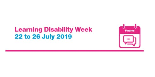 LD Carers Forum - Learning Disability Week 2019