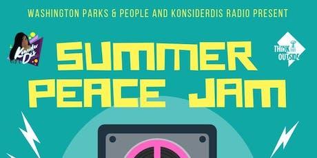 Summer Peace Jam 2019  - GOGO Music tickets