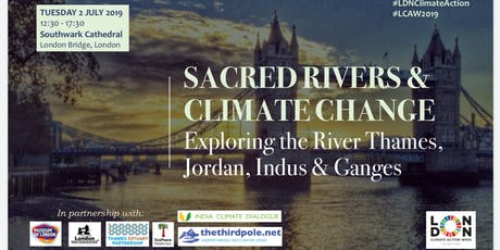 SACRED RIVERS & CLIMATE CHANGE: Exploring the Thames, Jordan, Indus & Ganges tickets