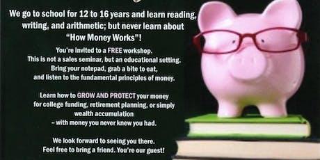 Money 101 - How Money Works tickets
