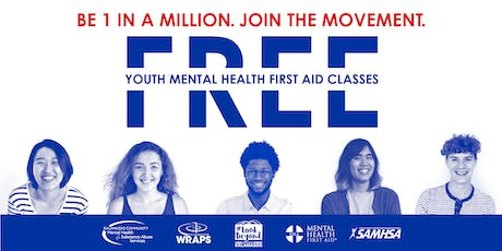 YOUTH Mental Health First Aid: Sept. 17 at Gryphon Place tickets