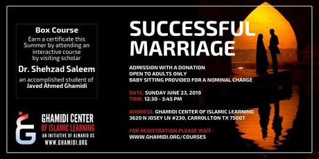 Successful Marriage tickets