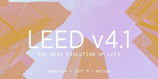 The Next Evolution of LEED: v4.1 - Boston