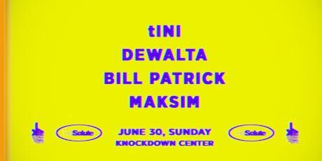 Tini & DeWalta tickets