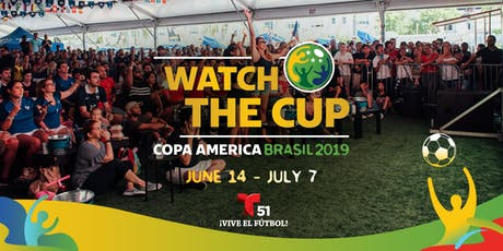 Watch the Cup: Copa America Brasil 2019 at The Wynwood Marketplace tickets