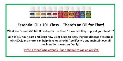 Essential Oils for Beginners - ONLINE CLASS