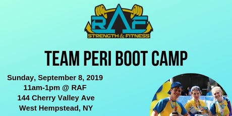 Team Peri Boot Camp  tickets