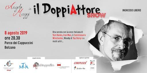 """Angelo Maggi in """"Il DoppiAttore Show"""""""