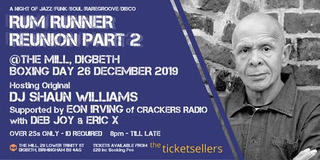 Rum Runner Reunion, Part 2 (The Mill, Birmingham) tickets