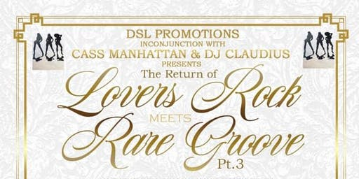 Lovers Rock meets Rare Groove part 3
