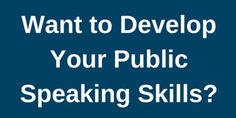 Want to develop your Public Speaking Skills? tickets