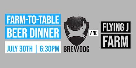 BrewDog Farm-To-Table Beer Dinner  tickets