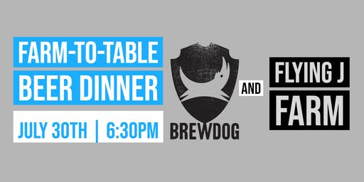 BrewDog Farm-To-Table Beer Dinner
