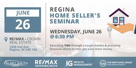 Regina Home Sellers Seminar  tickets