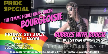 Bubbles with Bougie Drag Queen show! tickets