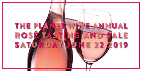 Planet Wine Rosé Tasting June 2019 tickets