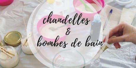 Atelier - Chandelles et Bombes de Bain tickets