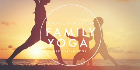 Family Yoga at Daily Bread - Summertime Theme! tickets