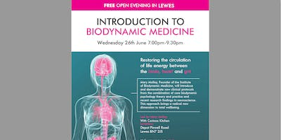FREE OPEN EVENING - INTRODUCTION TO BIODYNAMIC MEDICINE - The biodynamic approach to good health, happiness and wellbeing