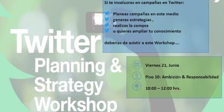 Twitter Workshop (Solo para colaboradores de nuestra red  Dentsu Aegis Network)  entradas