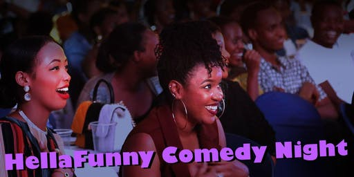 HellaFunny Comedy Night at SF's Newest Cocktail Lounge!