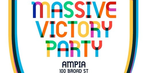 MASSIVE VICTORY PARTY