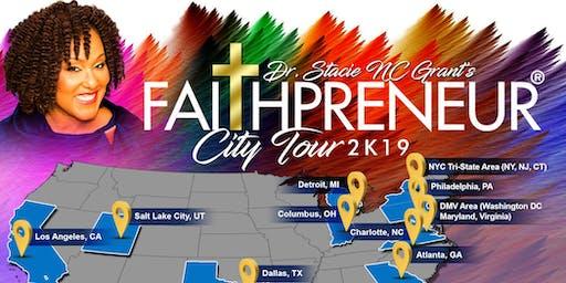 #FaithpreneurCityTour in Detroit