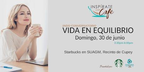 Inspírate con Café: 2ndo Conversatorio tickets