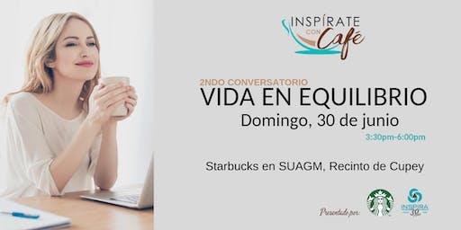 Inspírate con Café: 2ndo Conversatorio