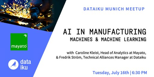 Machines and Machine Learning: AI in Manufacturing