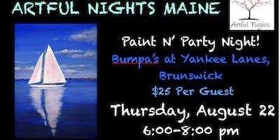 Paint N' Party at Bumpa's at Yankee Lanes