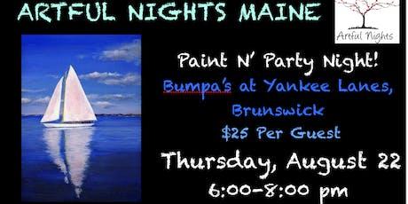 Paint N' Party at Bumpa's at Yankee Lanes tickets