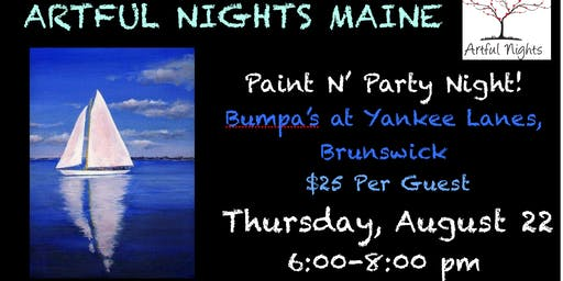Paint N' Party at Bumpa's at Yankee Lanes