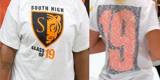 2019 Senior Party T-Shirt Sales