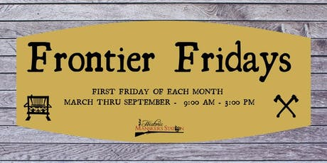 Frontier Friday:  Carpentry tickets