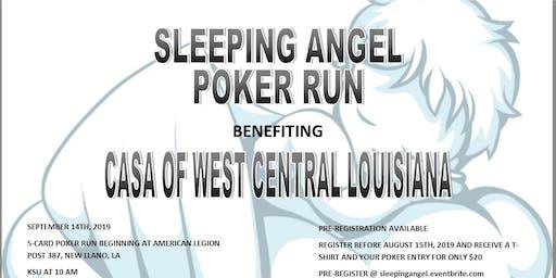 Sleeping Angel Poker Run
