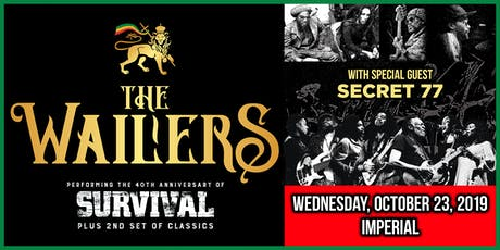 The Wailers - 40th Anniversary Tour tickets