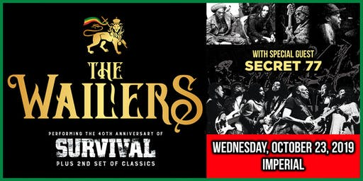 The Wailers - 40th Anniversary Tour