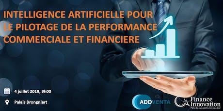 Intelligence artificielle pour le pilotage de la performance commerciale & financière  billets