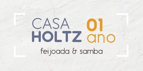 Feijoada e Samba - 01 Ano Casa Holtz ingressos