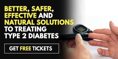 FREE Diabetes Treatment Seminar - Houston, TX 6/18 tickets